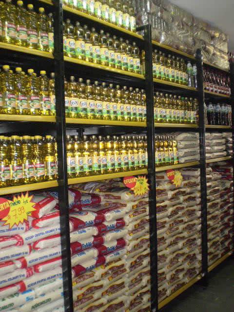 Rack Pesado para Cereais